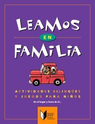 Leamos en familia: Actividades bilingües y juegos para niños