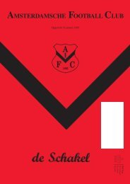 21 juni 2011 89ste jaargang nummer 11 - AFC, Amsterdam