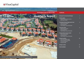 VCIM Q1 2011 report - VinaCapital