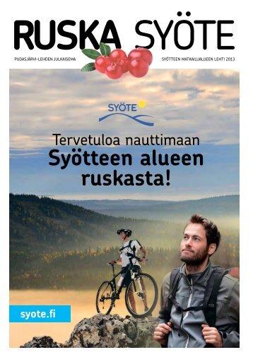 Tervetuloa nauttimaan - Pudasjärvi-lehti ja VKK-Media Oy