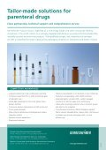 Tailor-made solutions for parenteral drugs - Gerresheimer - Page 2