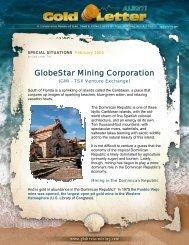 GlobeStar Mining Corporation - COAL HARBOR