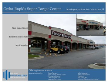 Cedar Rapids Super Target Center - Dietz Commercial