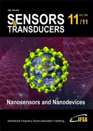 Nanomaterials and Chemical Sensors - International Frequency ...