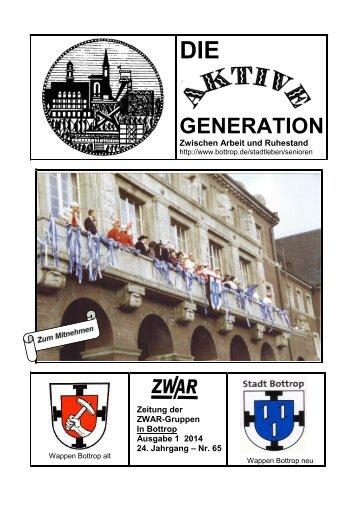ZWAR-Zeitung Ausgabe 1 2014