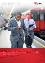 TrendLabs 2Q 2013 Security Roundup: Mobile ... - Trend Micro