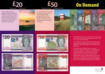 Download new notes information and images ... - States of Jersey