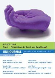 Unijournal 2/2011 - Armut - Perspektiven in Kunst und Gesellschaft