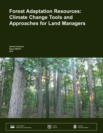 Forest adaptation resources: climate change tools and approaches ...