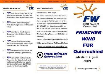 FW - Freie Wähler Quierschied