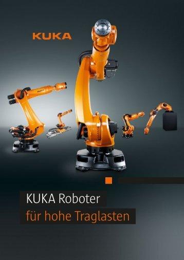 KUKARoboter für hohe Traglasten - KUKA Robotics