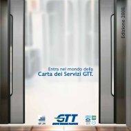 Carta dei servizi GTT 2008 - Città di Torino
