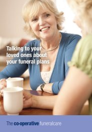 Talking to your loved ones about your funeral plans - The Co-operative