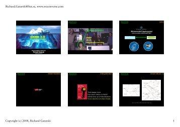 (Microsoft PowerPoint - gatarski_webb20_2008 ... - Richard Gatarski