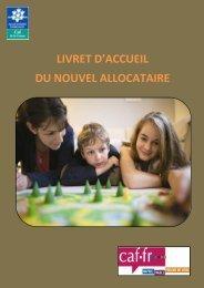 Guide d'accueil - Caf.fr
