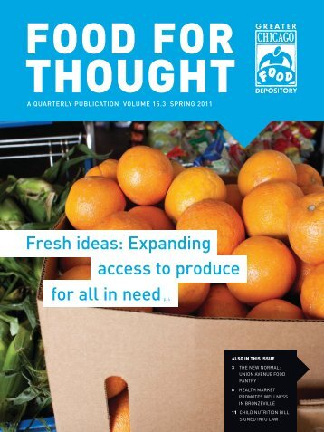 Fresh ideas: Expanding access to produce for all in needp. 4