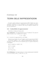 TEORIA DELLE RAPPRESENTAZIONI - Caressa.it