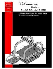 Worksaver Compact Im.. - Edney Distributing Co. Inc.