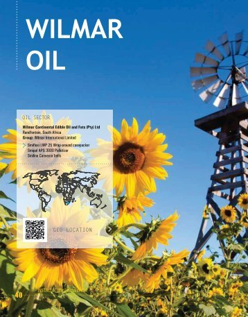 wilmar oil - south africa