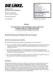Fraktion DIE LINKE Antrag Finanzierung der Drehbrücke über den ...