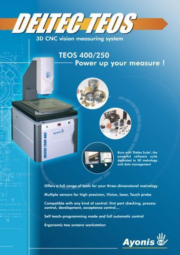 TEOS 400/250 Power up your measure - EMS: European Metrology ...