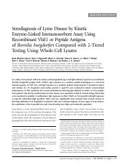 2003 study of Lyme tests - The Poughkeepsie Journal