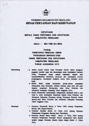 Rencana Umum Pengadaan Barang/Jasa di Lingkungan Dinas ...