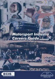 7939 - REVISED guide.p65 - Motorsport Industry Association