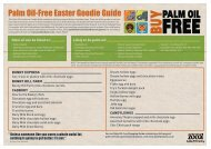 Palm Oil-Free Easter Goodie Guide - Auckland Zoo