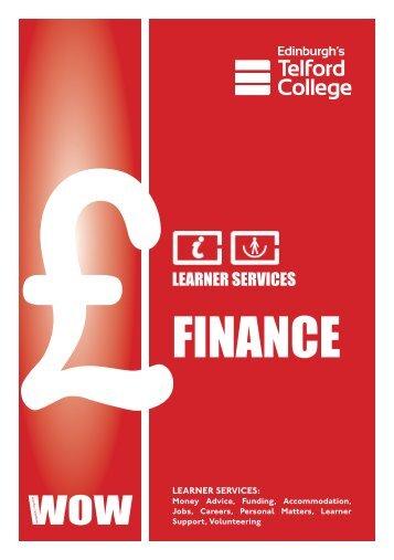 FINANCE - Edinburgh's Telford College