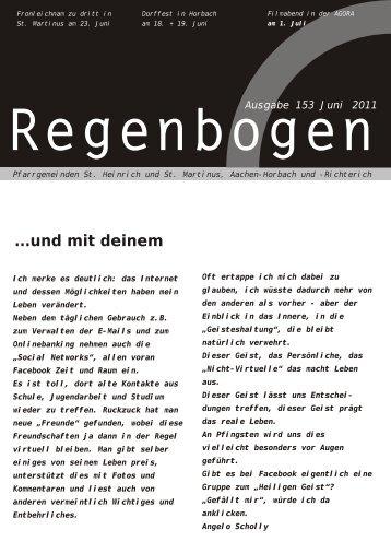 Regenbogen Juni 2011 - St. Heinrich