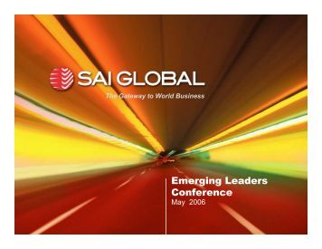to view the complete PDF - SAI Global