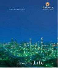 Annual Report 2006 - Reliance Industries Ltd