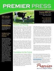 July - Premier Milk Inc.