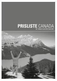 prisliste CANADA - Jesper Hannibal