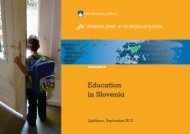 Education in Slovenia - Statistični urad Republike Slovenije