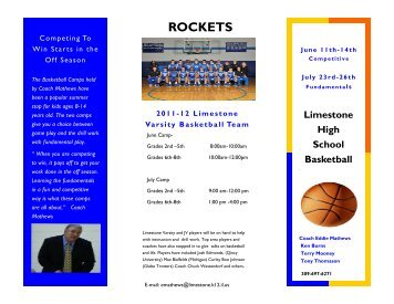 Varsity Summer Camp - Limestone Community High School
