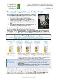 Immun-Paket für Borreliose