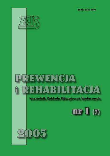 Prewencja i rehabilitacja nr 1/2005