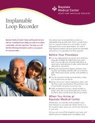 Implantable Loop Recorder - Baystate Health