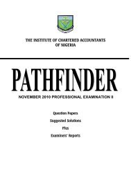 Nov 2010 PEII Pathfinder - The Institute of Chartered Accountants of ...