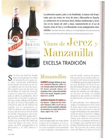 Manzanilla - Consejo Regulador de la Denominaciones de Origen ...