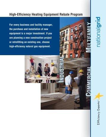 High-Efficiency Heating Equipment Rebate Program - National Grid