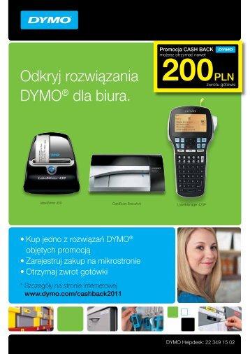 Odkryj rozwiązania DYMO® dla biura.