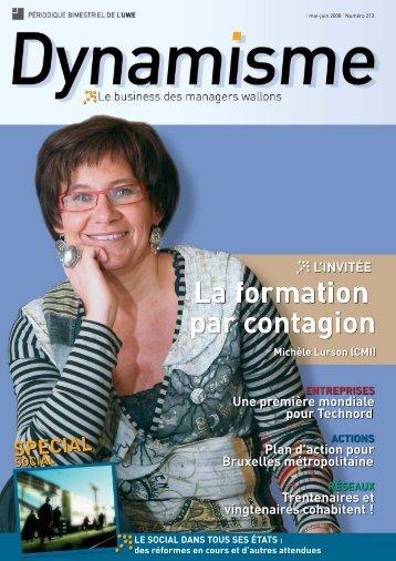 Dynamisme 213 - Union Wallonne des Entreprises