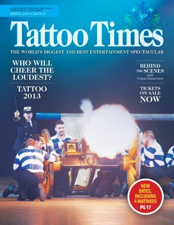 who will cheer the loudest? tattoo 2013 - Royal Canadian Legion