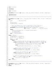 1: unit Intercal; 2: 3: interface 4: 5: uses DefDados; 6: 7 ... - UFS