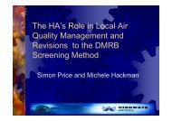 The HA's Role in Local Air Quality Management and ... - IAPSC