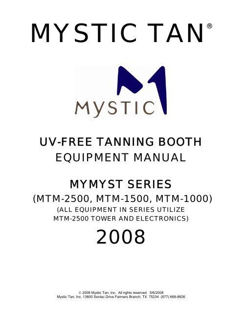mystic tan mymyst manual