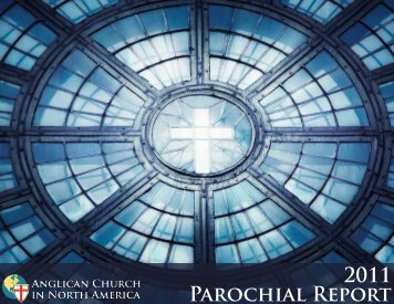 Parochial Report 2011 - Anglican Church in North America